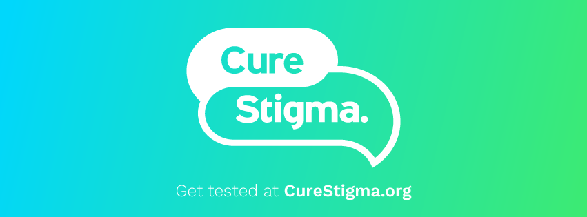 Get tested at curestigma.org